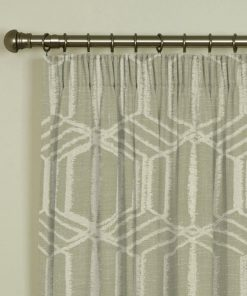 Byron Latte Pencil Pleat Curtains