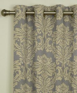 Dunstable Champagne Eyelet Curtains