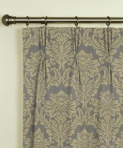 Dunstable Champagne Pinch Pleat Curtains