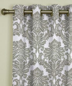 Dunstable Platinum Eyelet Curtains