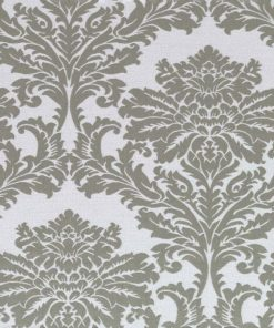 Dunstable Platinum Fabric Pelmet