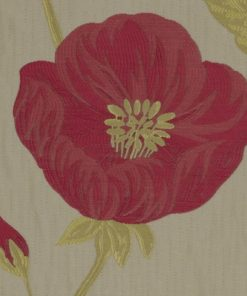 Freesia Cerise Fabric Pelmet