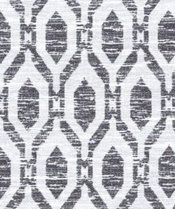 Isola Charcoal Fabric Pelmet