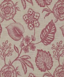 Manon Cranberry Fabric by the Metre