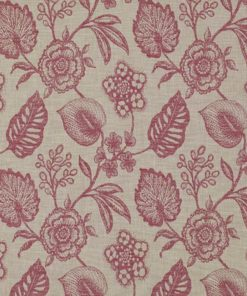 Manon Cranberry Fabric Pelmet